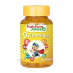 Acheter Nat&Form Junior Ours Gomme oursons 9 Vitamines B/60 à Seysses