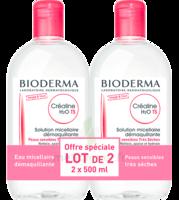 Crealine Ts H2o Solution Micellaire Sans Parfum Nettoyante Apaisante 2fl/500ml à Seysses