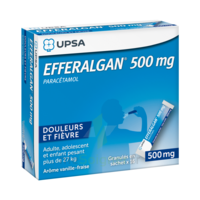 Efferalgan 500 Mg Glé En Sachet Sach/16 à Seysses