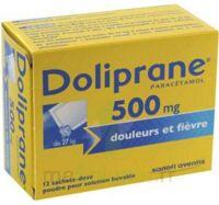 Doliprane 500 Mg Poudre Pour Solution Buvable En Sachet-dose B/12 à Seysses