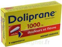 DOLIPRANE ADULTES 1000 mg, suppositoire à Seysses