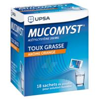 Mucomyst 200 Mg Poudre Pour Solution Buvable En Sachet B/18 à Seysses
