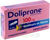 Doliprane 100 Mg Suppositoires Sécables 2plq/5 (10) à Seysses