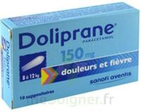 DOLIPRANE 150 mg Suppositoires 2Plq/5 (10) à Seysses