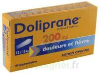 DOLIPRANE 200 mg Suppositoires 2Plq/5 (10) à Seysses