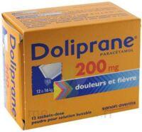 Doliprane 200 Mg Poudre Pour Solution Buvable En Sachet-dose B/12 à Seysses