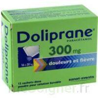 Doliprane 300 Mg Poudre Pour Solution Buvable En Sachet-dose B/12 à Seysses