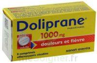 DOLIPRANE 1000 mg Comprimés effervescents sécables T/8 à Seysses