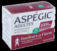 ASPEGIC ADULTES 1000 mg, poudre pour solution buvable en sachet-dose à Seysses