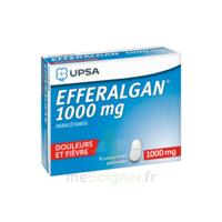 Efferalgan 1000 Mg Comprimés Pelliculés Plq/8 à Seysses