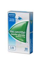 NICORETTE 2 mg Gom à mâcher médic sans sucre menthe glaciale Plq/30gom à Seysses