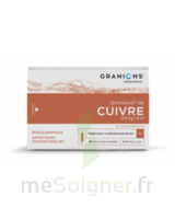 Granions De Cuivre 0,3 Mg/2 Ml S Buv 30amp/2ml à Seysses