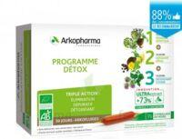 Arkofluide Bio Ultraextract Coffret Programme Détox 3x10 Ampoules/10ml à Seysses