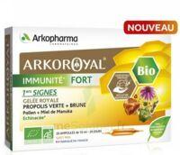 Arkoroyal Immunité Fort Solution Buvable 20 Ampoules/10ml à Seysses