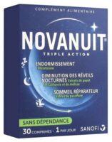 Novanuit Triple Action Comprimés B/30 à Seysses