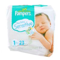 PAMPERS COUCHES NEW BABY SENSITIVE TAILLE 1 2-5 KG x 23 à Seysses