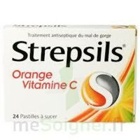 STREPSILS ORANGE VITAMINE C, pastille à Seysses