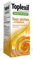 TOPLEXIL 0,33 mg/ml sans sucre solution buvable 150ml à Seysses