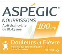 ASPEGIC NOURRISSONS 100 mg, poudre pour solution buvable en sachet-dose à Seysses