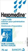 HEXOMEDINE 1 POUR MILLE, solution pour pulvérisation cutanée en flacon pressurisé à Seysses
