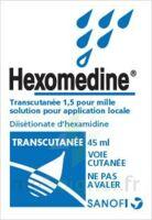 HEXOMEDINE TRANSCUTANEE 1,5 POUR MILLE, solution pour application locale à Seysses