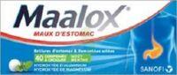 Maalox Hydroxyde D'aluminium/hydroxyde De Magnesium 400 Mg/400 Mg Cpr à Croquer Maux D'estomac Plq/40 à Seysses