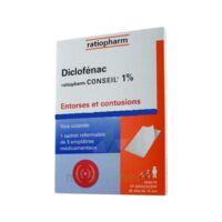 Diclofenac Ratiopharm Conseil 1 %, Emplâtre Médicamenteux à Seysses