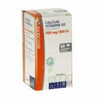 CALCIUM VITAMINE D3 BIOGARAN 500 mg/400 UI, comprimé à sucer à Seysses