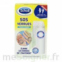 Scholl SOS Verrues traitement pieds et mains à Seysses