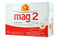 MAG 2 SANS SUCRE 122 mg, solution buvable en ampoule édulcoré à la saccharine sodique à Seysses