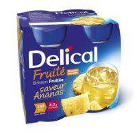 Delical Boisson Fruitee Nutriment Ananas 4bouteilles/200ml à Seysses