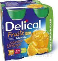 DELICAL BOISSON FRUITEE Nutriment édulcoré orange 4Bouteilles/200ml à Seysses