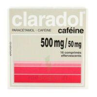 Claradol Cafeine 500 Mg/50 Mg, Comprimé Effervescent à Seysses