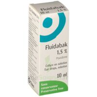 FLUIDABAK 1,5 %, collyre en solution à Seysses