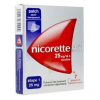 NICORETTESKIN 25 mg/16 heures, dispositif transdermique B/28 à Seysses