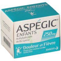 Aspegic Enfants 250, Poudre Pour Solution Buvable En Sachet-dose à Seysses