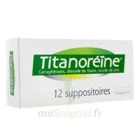 TITANOREINE Suppositoires B/12 à Seysses