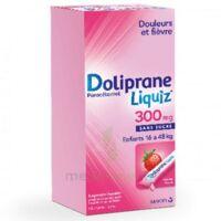 Dolipraneliquiz 300 mg Suspension buvable en sachet sans sucre édulcorée au maltitol liquide et au sorbitol B/12 à Seysses