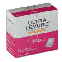 ULTRA-LEVURE 100 mg Poudre pour suspension buvable en sachet B/20 à Seysses