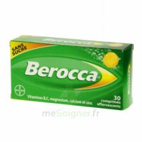 Berocca Comprimés effervescents sans sucre T/30 à Seysses