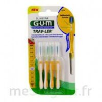 Gum Trav - Ler, 1,3 Mm, Manche Jaune , Blister 4 à Seysses