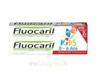 Fluocaril Kids Gel dentifrice Fraise 0/6ans 2*50ml à Seysses