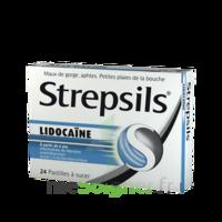 Strepsils Lidocaïne Pastilles Plq/24 à Seysses