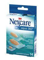 Nexcare Aqua 360° Pansements 3 Tailles B/14 à Seysses