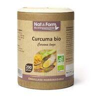Nat&form Eco Responsable Curcuma Madras Bio Gélules B/200 à Seysses