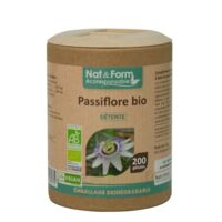Nat&form Eco Responsable Passiflore Bio Gélules B/200 à Seysses