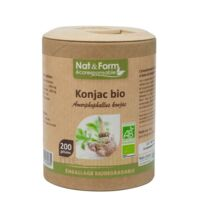 Nat&form Eco Responsable Konjac Bio Gélules B/200 à Seysses