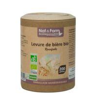 Nat&form Eco Responsable Levure De Bière Bio Gélules B/200 à Seysses