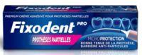 Fixodent Pro Crème Adhésive Pour Prothèse Partielle T/40g à Seysses