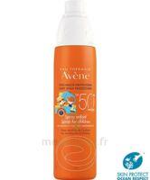 Avène Eau Thermale Solaire Spray Enfant 50+ 200ml à Seysses